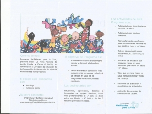 Programa Habilidades para la vida JUNAEB